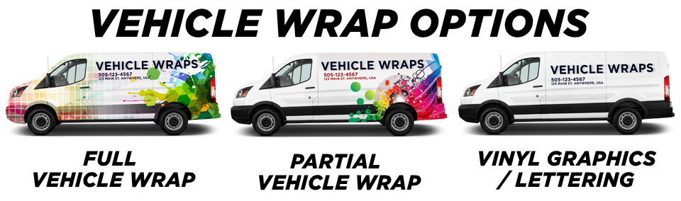 La Mesa Vehicle Wraps vehicle wrap options