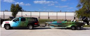custom boat and truck wraps